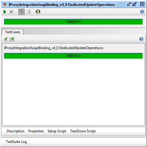 "Result of ""IProxyIntegrationSoapBinding_v4_0 DedicatedUpdateOperations"" execution"