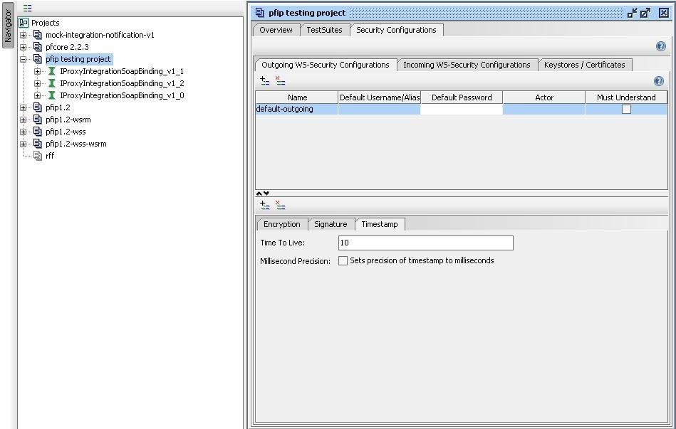 soapUI project Timestamp configuration (part 2)